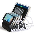 6-Port Charging Stand Dock Station Cellphones USB Charger iPhone Samsung Tablets8  Color - 6-Port, Manufacturer - Upow, UPC - 744960565741, ISBN - Does not apply, EAN - 0744960565741, MPN - 4326540074