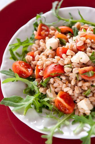 Traditional Italian Farro Salad (Insalata di Farro)   Enjoy this authentic Italian recipe from our kitchen to yours. Buon Appetito!