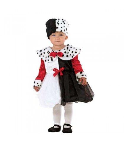 Μικρή Κακιά Βαρώνη για μωράκια κορίτσια Η κακιά Κρουέλα