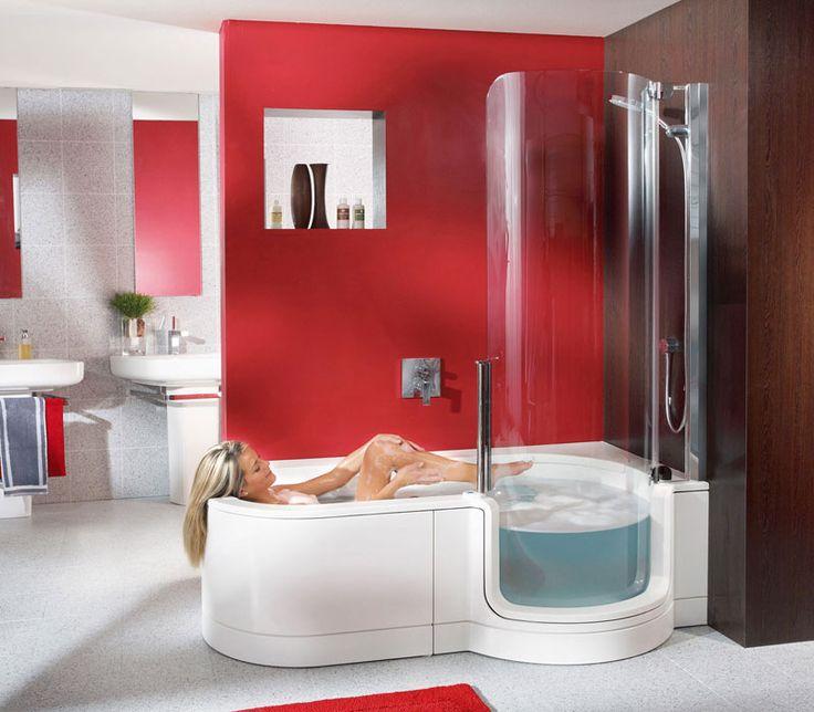 Twinline Tub Shower From German Company Artweger Is A