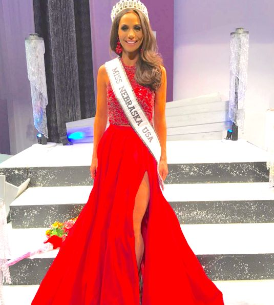 Miss Nebraska USA 2016 Evening Gown: HIT or MISS? | Sarah Hollins punched her ticket to this Miss USA pageant this past weekend as she was crowned Miss Nebraska USA! She chose a bold color and a dynamite silhouette to maximize her impact.  Read more: http://thepageantplanet.com/miss-nebraska-usa-2016-evening-gown/#ixzz3xq4i0so4