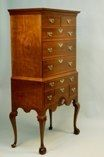Newport Highboy Handmade by Doucette and Wolfe Furniture Makers Townsend Goddard
