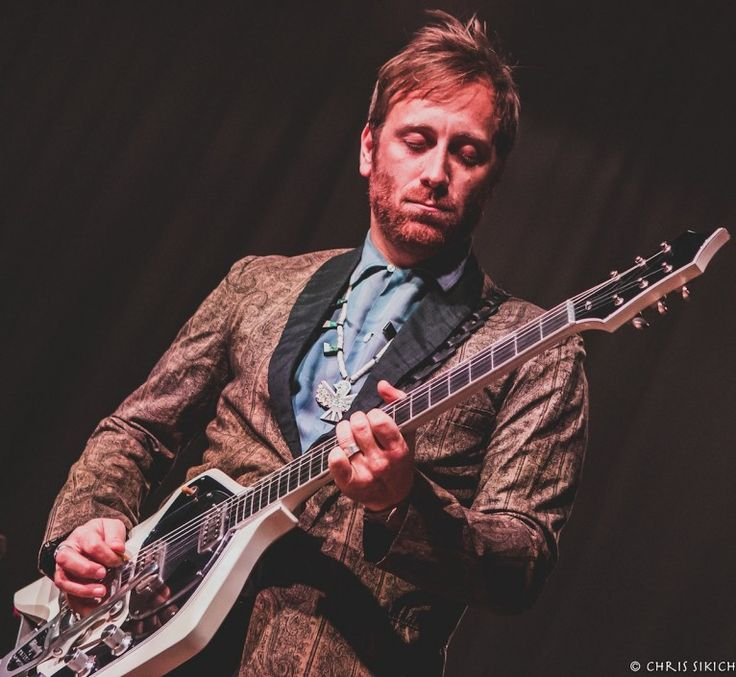 Guitarist Dan Auerbach of The Arcs