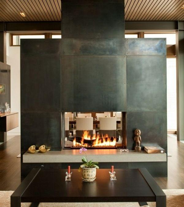 Designer wohnzimmer holz  Die besten 25+ Einbaukamin Ideen auf Pinterest | Haus am see ...