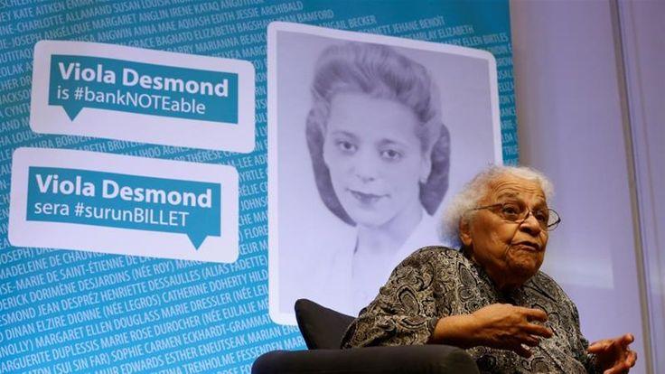 article by Jillian Kestler-D'Amoursvia aljazeera.com Toronto, Canada – Viola Desmond, a black civil rights leader who led a struggle against anti-black segregation and racism in Canada…