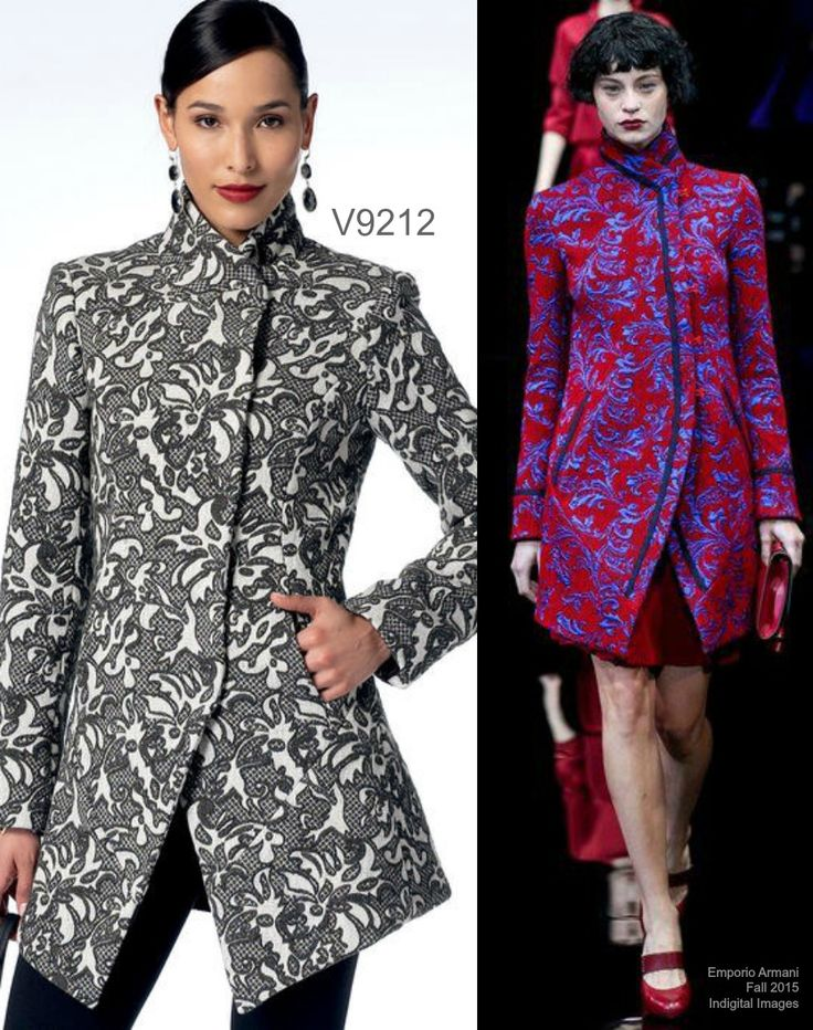 Sew the Look: Vogue Patterns V9212 jacket