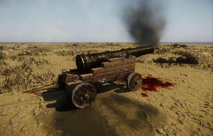 Pirate Cannon, made in 3Ds Max. Textures: Photoshop, Render: CryEngine 3