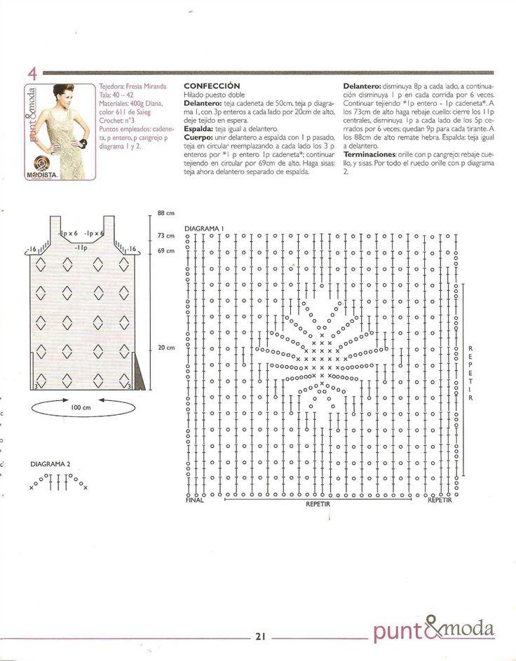 9 best Márcia images on Pinterest | Crochet tops, Crochet dresses ...