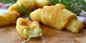 Cornetti di patate e provola