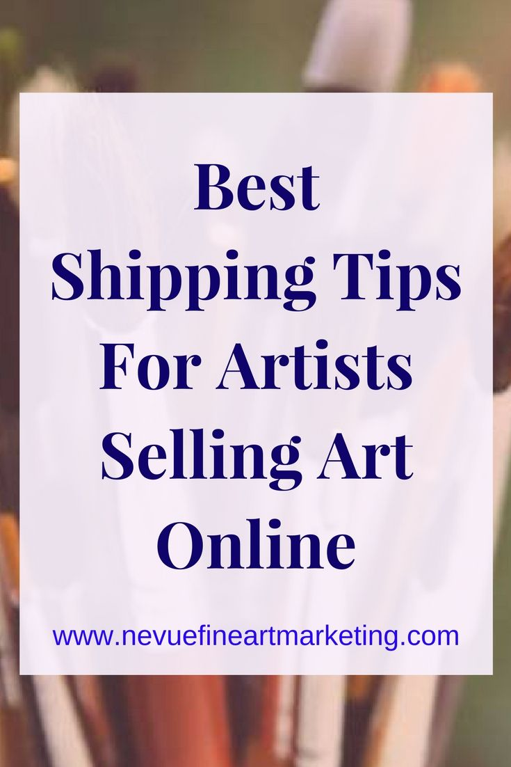 Best 25 selling art online ideas on pinterest selling crafts best shipping tips for artists selling art online publicscrutiny Image collections
