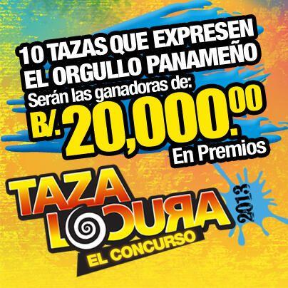 La Taza Locura 2013, El Concurso, ¡premia tu creatividad!. No te quedes sin participar. Visita http://www.tazalocura.com