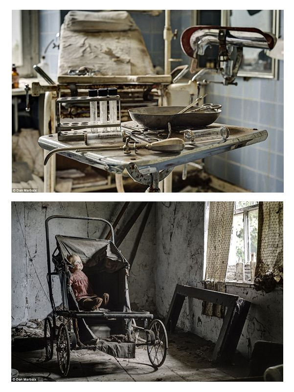 German Doctor's Estate Left Filled with Terrifying Medical Equipment--Little is known about the occupants of this abandoned mansion in Germany, which was deserted at least twenty years ago, still boasts gorgeous fixtures and furniture. Personal effects have been left behind, suggesting a sudden flight from the residence. The most eerie part of the house involves a physician's examination room, complete with instruments .