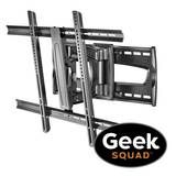 """Geek Squad® - Geek Squad TV Connect with Rocketfish Full-MotionTV Mount and TV Mounting Service For TVs 51"""" and Larger"""