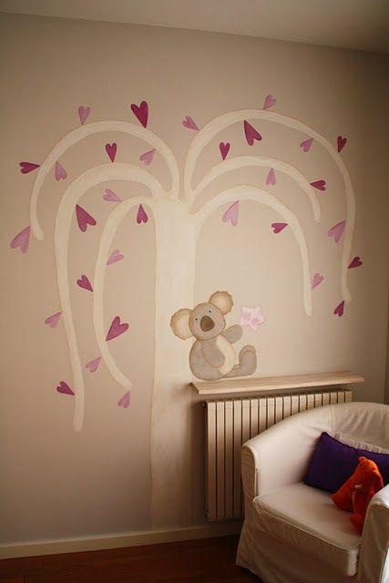 25 ideas destacadas sobre murales pintados en pinterest - Letras decorativas para habitaciones infantiles ...