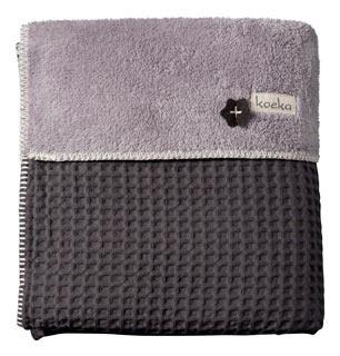 Grey blanket Koeka