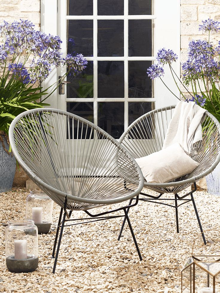 Photo of 27 Convenient Outdoor Garden Chairs and Other Seating Solutions