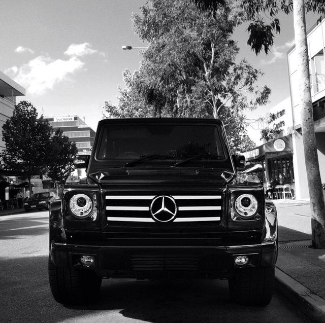 Mercedes G55 AMG   My all time dream car! If I ever own this I will know I've made it!