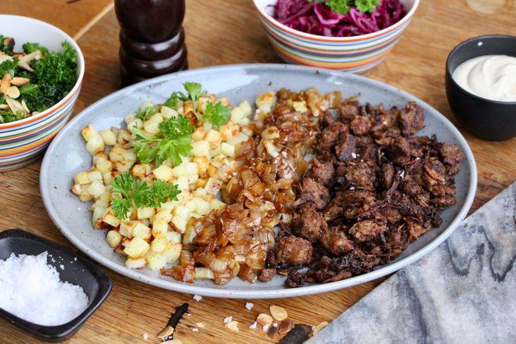 Vegansk Biff Rydberg | Jävligt gott - vegetarisk mat och vegetariska recept för alla, lagad enkelt och jävligt gott.