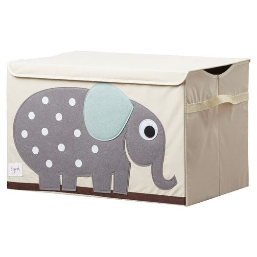 3 Sprouts Elephant Toy Chest