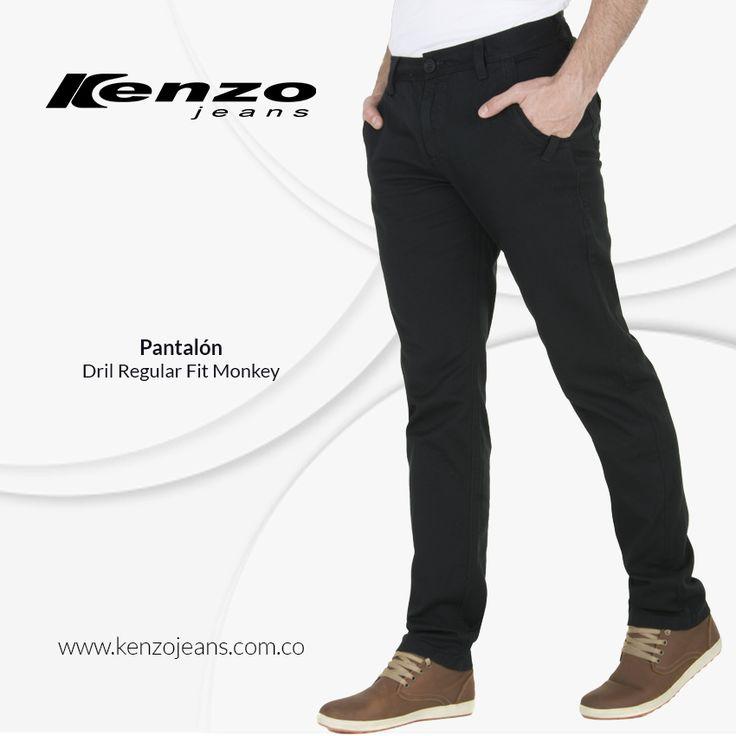 Los pantalones en dril son la pieza clásica y atemporal que estabas esperando para vestir a diario, los puedes usar para ir al trabajo o para salir los fines de semana. #KenzoJeansaUnClic  compra ahora en ow.ly/VYCKd