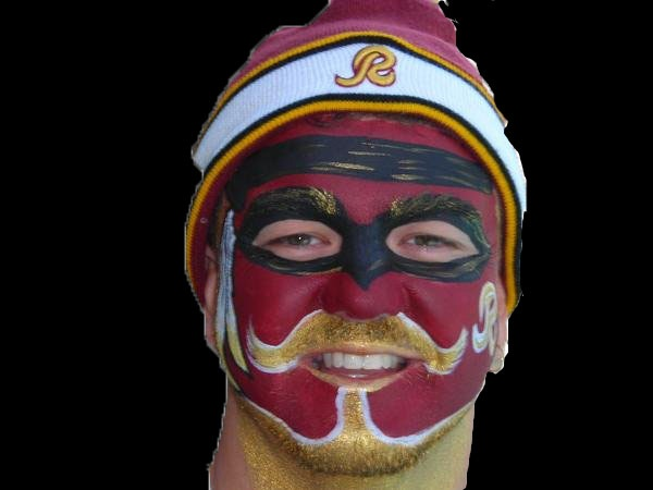 War Paint:  It must soon be Redskins Game time!  Hail to the Redskins!!!!  http://itunes.apple.com/us/album/hail-to-the-redskins/id377013949