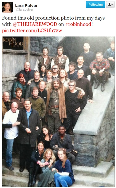 Bless you, Lara Pulver! Oh gosh, look at Joe and Gordon! LOL @Emily B Pendarvis @Cassidy Shaw