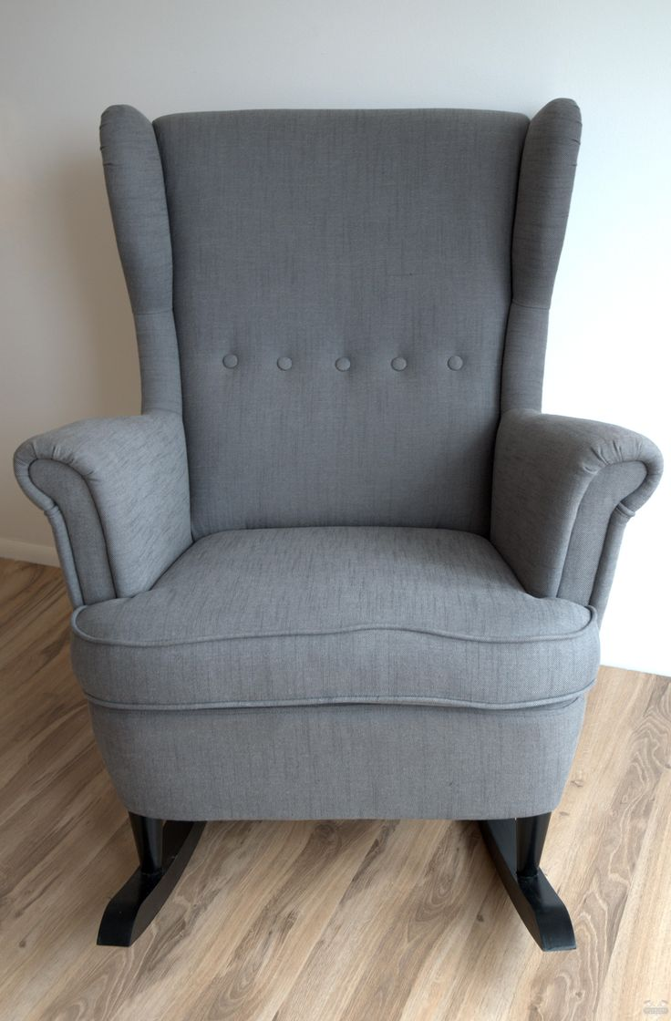Ikea Glider Ikea Hack: Strandmon Rocker {diy Wingback Rocking Chair