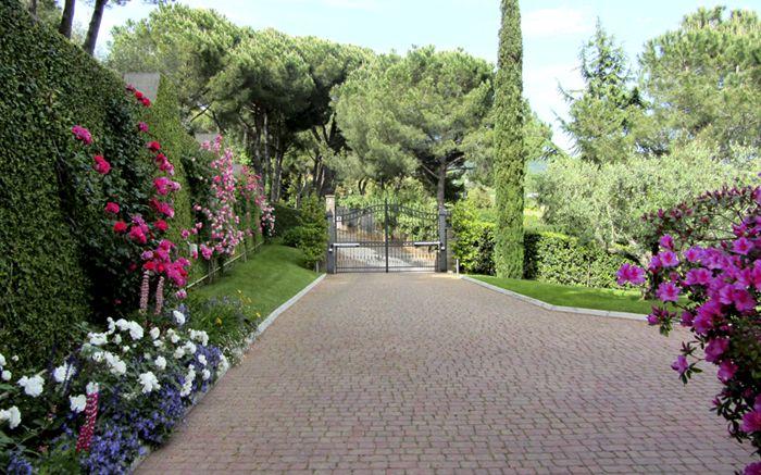 Italgarden design giardino minimalista Roma Albano Laziale