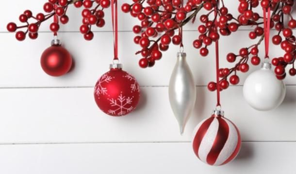 red and white christmas - Google Search