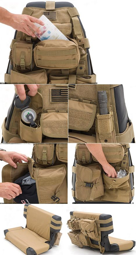 Smittybilt G.E.A.R. Turns Your Jeep/Truck into a Rolling Rucksack, my husband would love this!