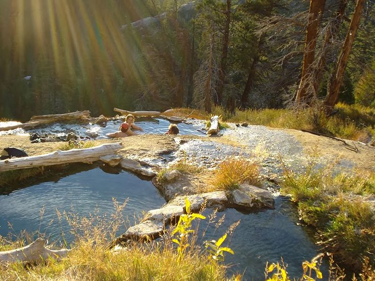 Iva Bell Hot Springs is a perfect one night fastpacking trip. – Sage to Summit