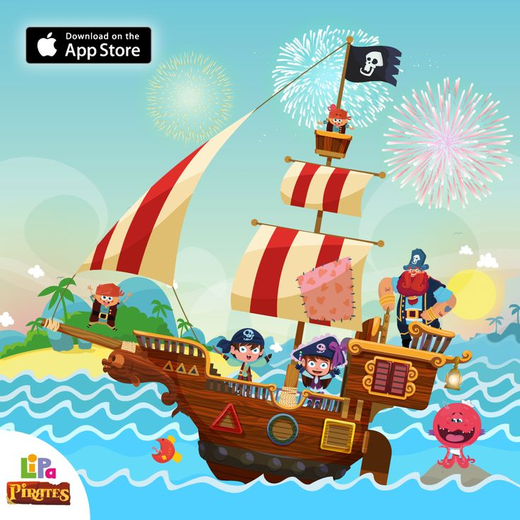 Come Shape the Horizon! Lipa Pirates is out NOW on the App Store! Kids launch on a seafaring adventure with Captain Brickbeard to learn all about new shapes! https://itunes.apple.com/us/app/lipa-pirates/id958976130?l=cs&ls=1&mt=8