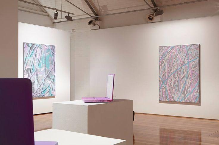 Michael Staniak Artist Paintings Laptops Exhibition Artereal Gallery Sydney