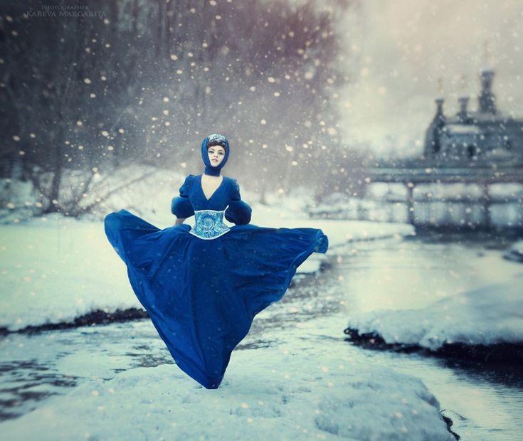 Сказочный русский фотограф Русские сказки оживают на фотографиях Маргариты Каревой.