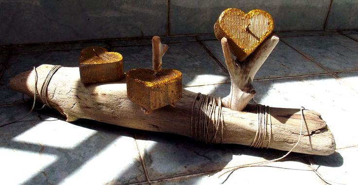| Driftwood | Legno di mare | Portacandele | Design |