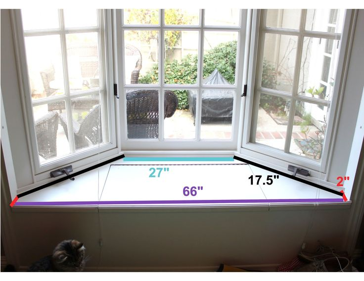 how to measure for a bay window seat cushion - Bay Windows Design