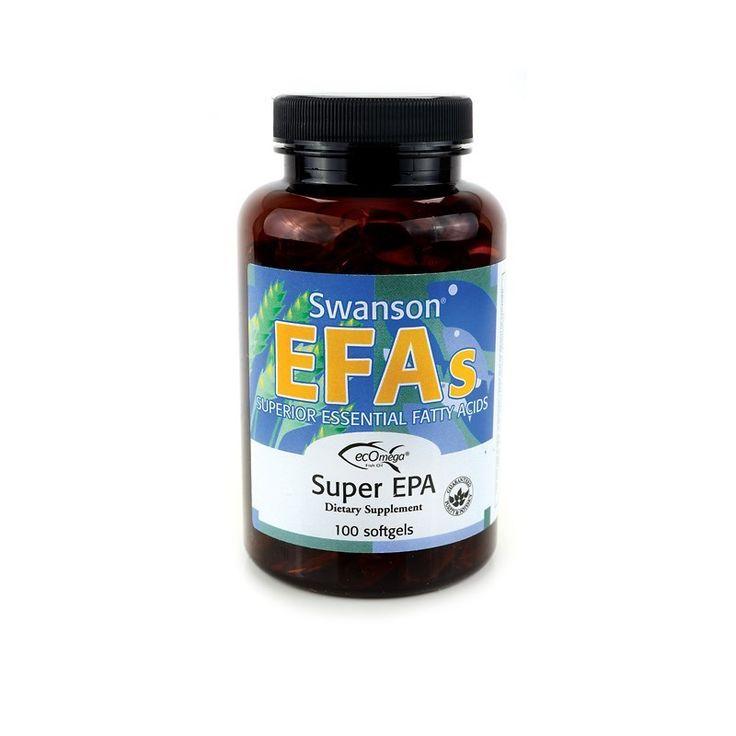 Swanson EFAs Super EPA Fish Oil 100 Softgels