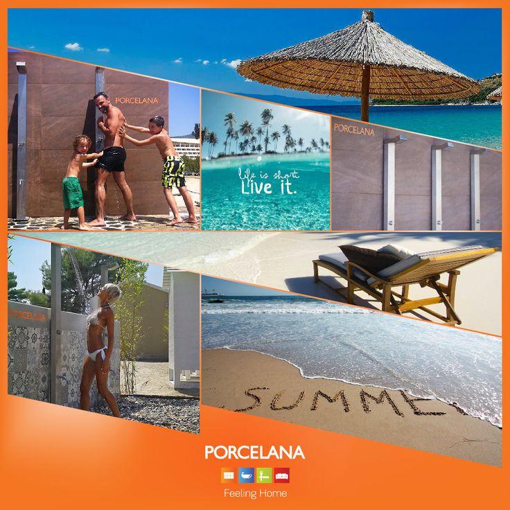 Kohi Beach Bar, Umbrellas, Bolivar Beach Bar & η παρουσία μας σε αγαπημένα #beachbar δεν σταματά εδώ. Για δεύτερο συνεχόμενο καλοκαίρι η Porcelana προσθέτει τη δική της σφραγίδα και ανακαινίζει τα #douche & #bath του beach bar Cabana Beach, στην ακτή Ξενία, στο Παλιούρι Χαλκιδικής! Life is better @ the #beach!