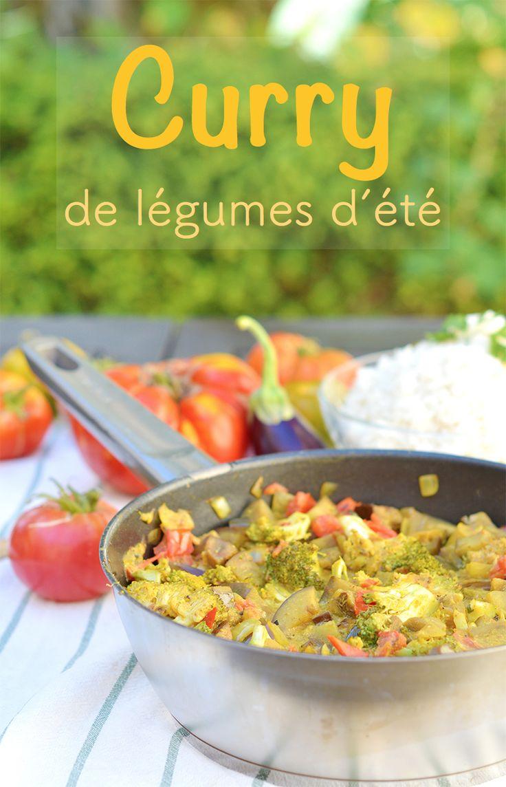 Curry de légumes d'été (vegan, sans gluten