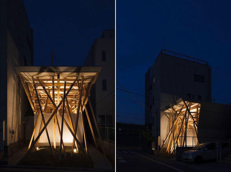 Hideo Horikawa: Nousfit Warehouse Architetti: Hideo Horikawa Architect + Associates Località: Itabashi, Tokyo Area: 39.74 mq Cliente: Nousfit Corporation