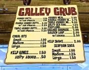 Krusty Crab Menu board and food ideas