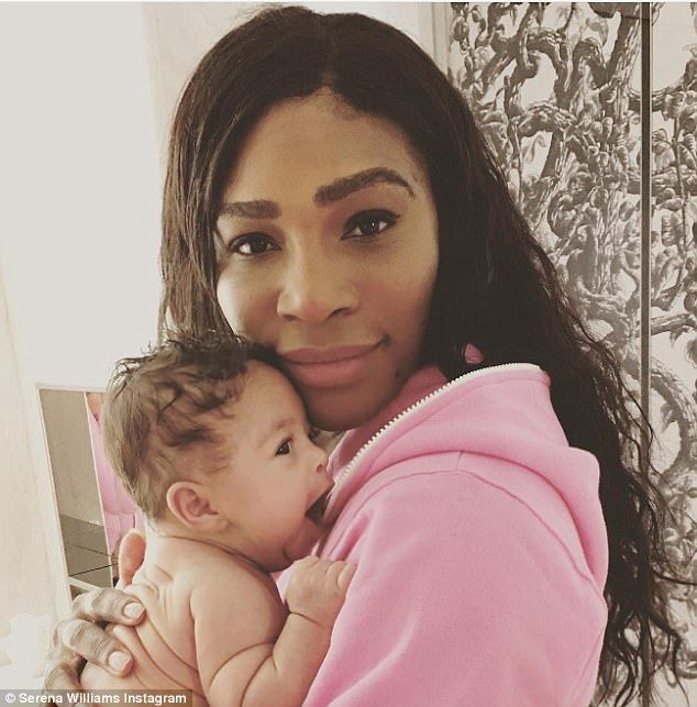 New mom! It seems Serena Williams is already worried that her little girl is being spoiled by her father Alexis Ohanian Sr
