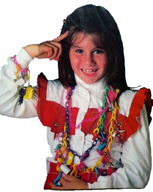 Putting plastic charms on every possible accessory you could get your hands on — and each charm had its own special meaning. | 53 Things Only '80s Girls Can Understand