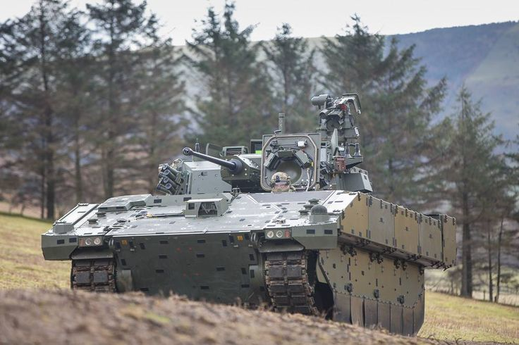 AJAX provides a step-change in the Armoured Fighting Vehicle capability being delivered to the British Army.
