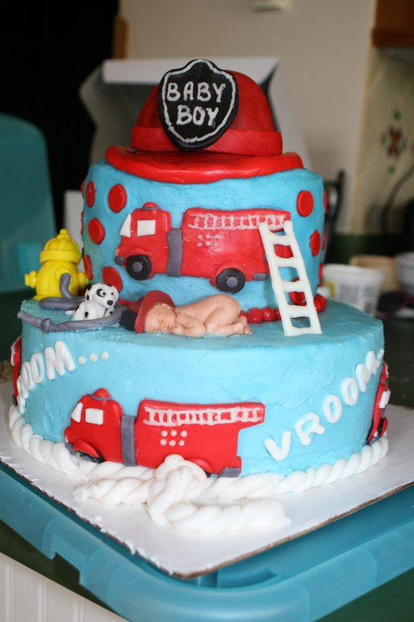 Firefighter baby shower  Ideas | Baby Fireman — Baby Shower