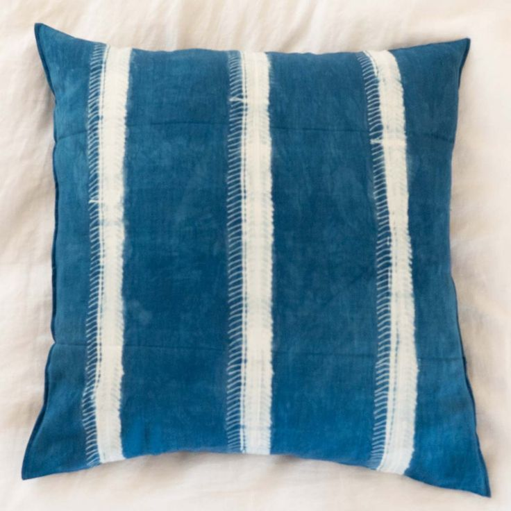 Guinea Indigo Pillow III