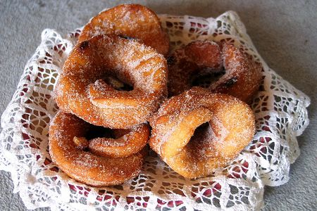 Rosquillas are a staple in Spanish homes for dessert, and yes, especially breakfast.