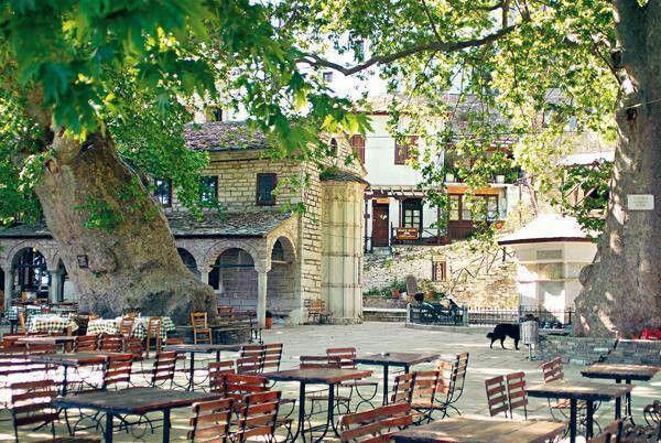 Makrinitsa,Pilio,Greece