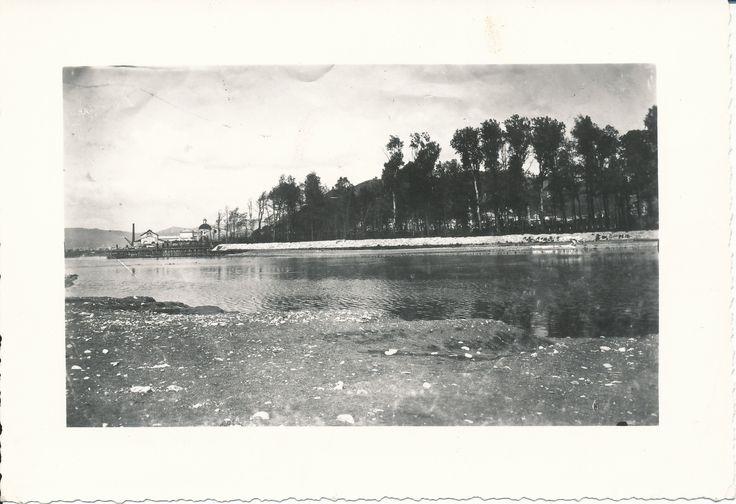 Il fiume Entella a Chiavari (Ge). (Photo: Migone, data segnata sul verso: 1918)