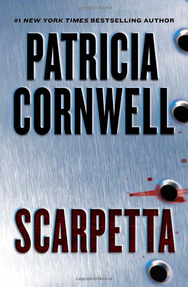 I have read every Patricia Cornwell book except for her latest one.  I love the Kay Scarpetta series!